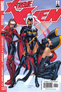 Cover Thumbnail for X-Treme X-Men (Marvel, 2001 series) #7 [Direct Edition]