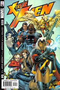 Cover Thumbnail for X-Treme X-Men (Marvel, 2001 series) #10 [Direct Edition]