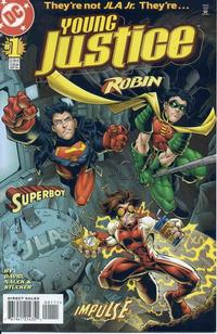 Cover Thumbnail for Young Justice (DC, 1998 series) #1 [Direct Sales]