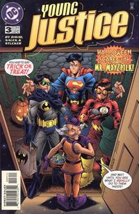 Cover Thumbnail for Young Justice (DC, 1998 series) #3
