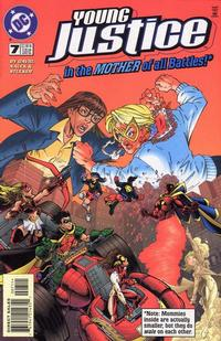 Cover Thumbnail for Young Justice (DC, 1998 series) #7 [Direct Sales]