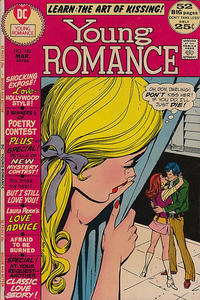 Cover for Young Romance (DC, 1963 series) #180