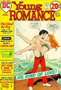 Cover for Young Romance (DC, 1963 series) #186