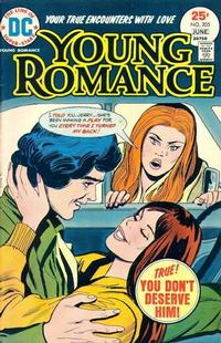 Cover Thumbnail for Young Romance (DC, 1963 series) #205
