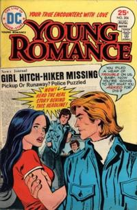 Cover Thumbnail for Young Romance (DC, 1963 series) #206