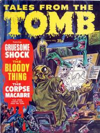 Cover Thumbnail for Tales from the Tomb (Eerie Publications, 1969 series) #v2#1