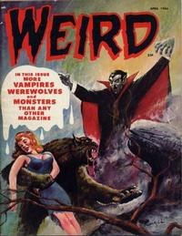 Cover for Weird (Eerie Publications, 1966 series) #v1#11