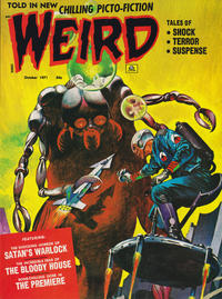 Cover Thumbnail for Weird (Eerie Publications, 1966 series) #v5#5
