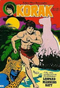 Cover Thumbnail for Korak (Atlantic Förlags AB, 1977 series) #2/1977