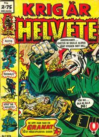 Cover Thumbnail for Krig är helvete (Red Clown, 1974 series) #2/1974