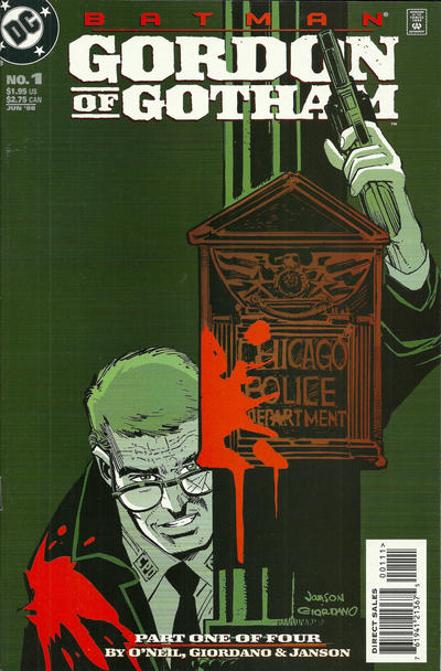 Cover for Batman: Gordon of Gotham (DC, 1998 series) #1