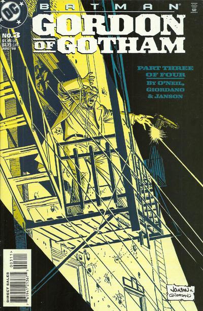 Cover for Batman: Gordon of Gotham (DC, 1998 series) #3