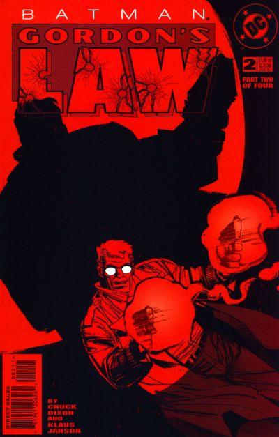 Cover for Batman: Gordon's Law (DC, 1996 series) #2