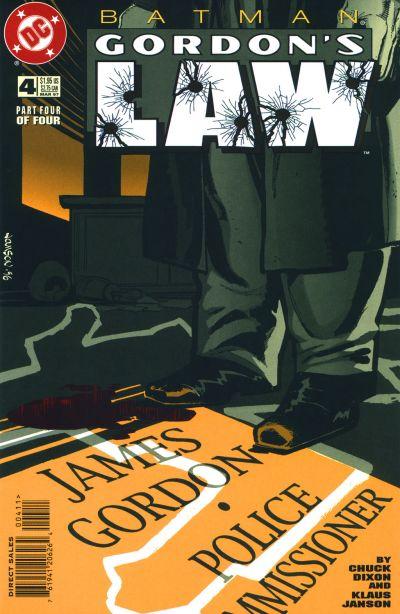 Cover for Batman: Gordon's Law (DC, 1996 series) #4