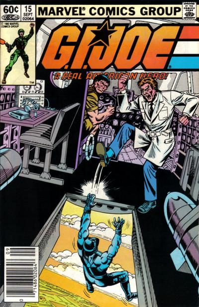 Cover for G.I. Joe, A Real American Hero (Marvel, 1982 series) #15 [Newsstand Edition]