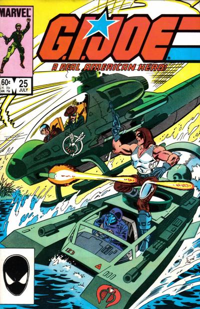 Cover for G.I. Joe, A Real American Hero (Marvel, 1982 series) #25 [Direct Edition]
