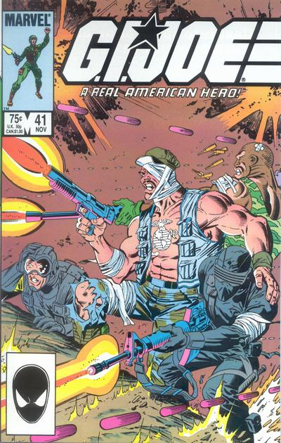 Cover for G.I. Joe, A Real American Hero (Marvel, 1982 series) #41 [Direct Edition]