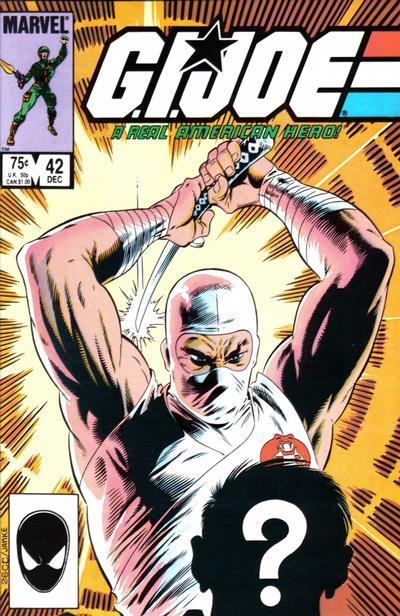 Cover for G.I. Joe, A Real American Hero (Marvel, 1982 series) #42 [Direct Edition]