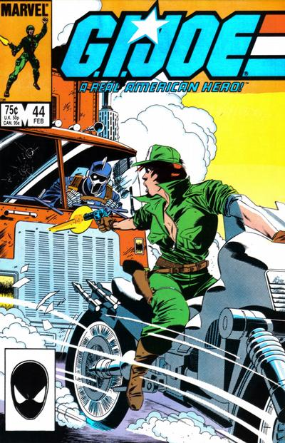 Cover for G.I. Joe, A Real American Hero (Marvel, 1982 series) #44 [Direct Edition]