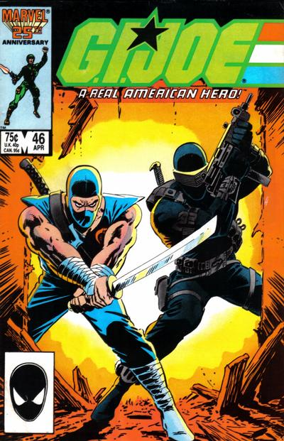 Cover for G.I. Joe, A Real American Hero (Marvel, 1982 series) #46 [Newsstand Edition]