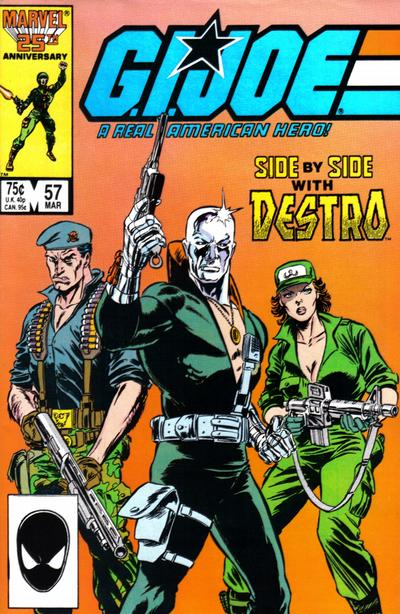 Cover for G.I. Joe, A Real American Hero (Marvel, 1982 series) #57 [Direct Edition]