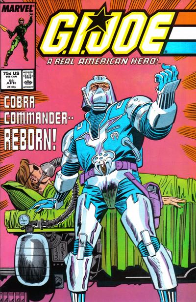 Cover for G.I. Joe, A Real American Hero (Marvel, 1982 series) #58 [Newsstand Edition]