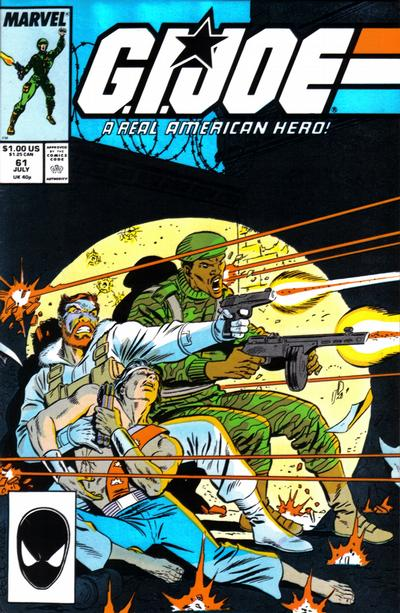 Cover for G.I. Joe, A Real American Hero (Marvel, 1982 series) #61 [Direct Edition]