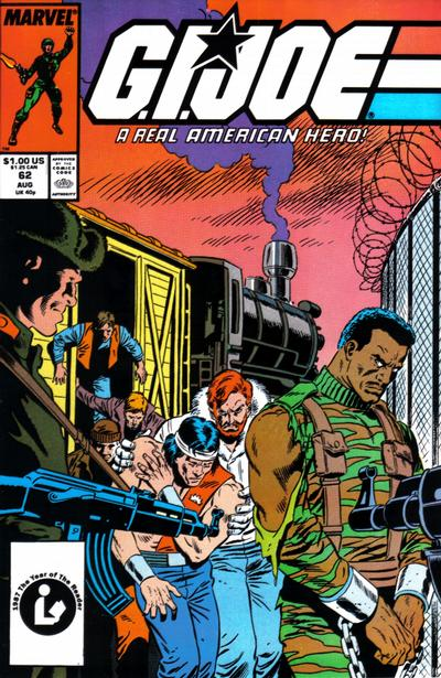 Cover for G.I. Joe, A Real American Hero (Marvel, 1982 series) #62 [Newsstand Edition]