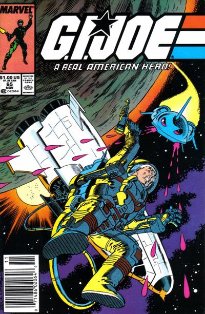Cover for G.I. Joe, A Real American Hero (Marvel, 1982 series) #65 [Direct Edition]
