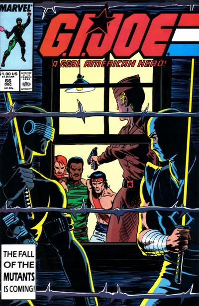 Cover for G.I. Joe, A Real American Hero (Marvel, 1982 series) #66 [Newsstand Edition]