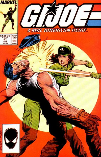 Cover for G.I. Joe, A Real American Hero (Marvel, 1982 series) #67 [Direct Edition]