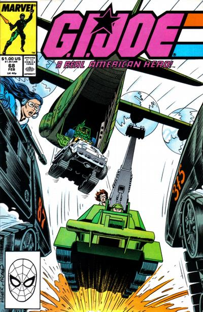 Cover for G.I. Joe, A Real American Hero (Marvel, 1982 series) #68 [Direct Edition]