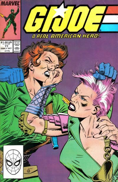 Cover for G.I. Joe, A Real American Hero (Marvel, 1982 series) #77 [Direct Edition]