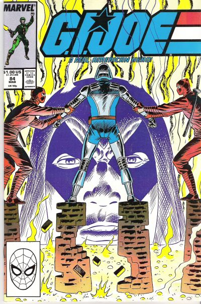 Cover for G.I. Joe, A Real American Hero (Marvel, 1982 series) #84 [Direct Edition]