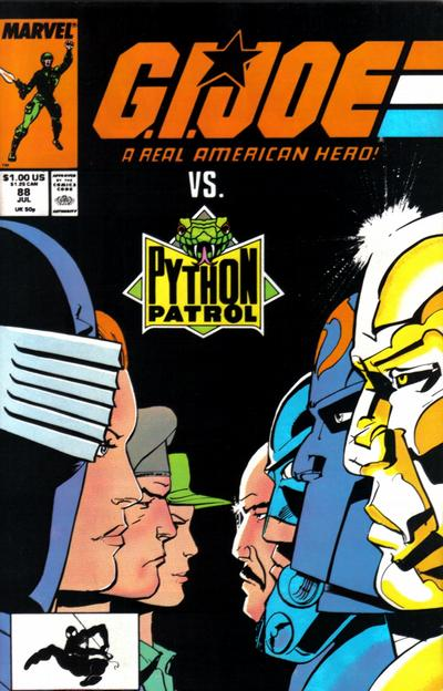 Cover for G.I. Joe, A Real American Hero (Marvel, 1982 series) #88 [Direct Edition]