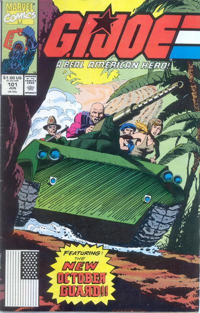 Cover for G.I. Joe, A Real American Hero (Marvel, 1982 series) #101 [Direct Edition]