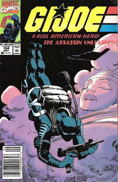Cover for G.I. Joe, A Real American Hero (Marvel, 1982 series) #104 [Direct Edition]