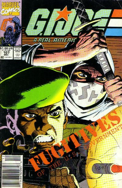 Cover for G.I. Joe, A Real American Hero (Marvel, 1982 series) #107 [Direct Edition]
