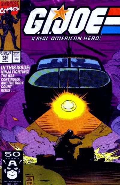 Cover for G.I. Joe, A Real American Hero (Marvel, 1982 series) #112 [Direct Edition]