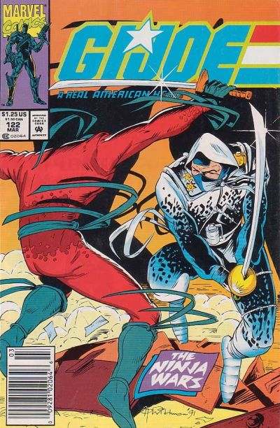 Cover for G.I. Joe, A Real American Hero (Marvel, 1982 series) #122 [Direct Edition]