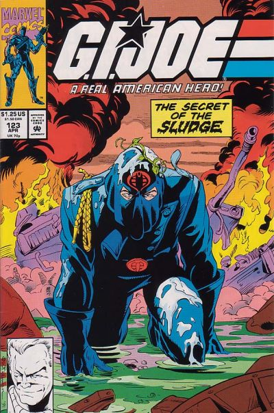 Cover for G.I. Joe, A Real American Hero (Marvel, 1982 series) #123 [Direct Edition]