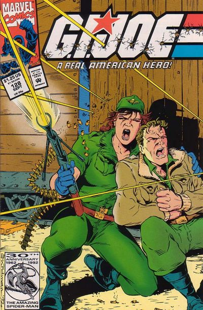 Cover for G.I. Joe, A Real American Hero (Marvel, 1982 series) #128 [Direct Edition]
