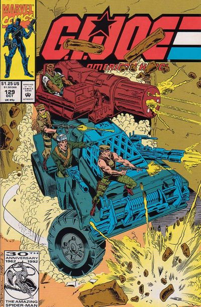 Cover for G.I. Joe, A Real American Hero (Marvel, 1982 series) #129 [Direct Edition]