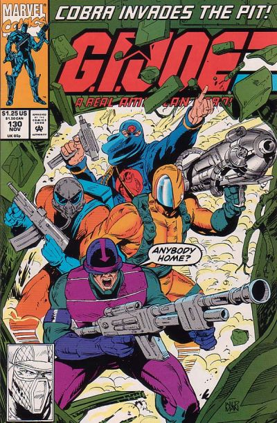 Cover for G.I. Joe, A Real American Hero (Marvel, 1982 series) #130 [Direct Edition]