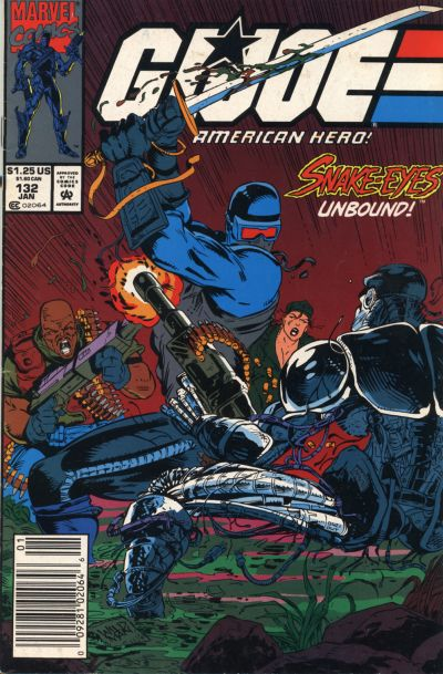 Cover for G.I. Joe, A Real American Hero (Marvel, 1982 series) #132 [Direct Edition]