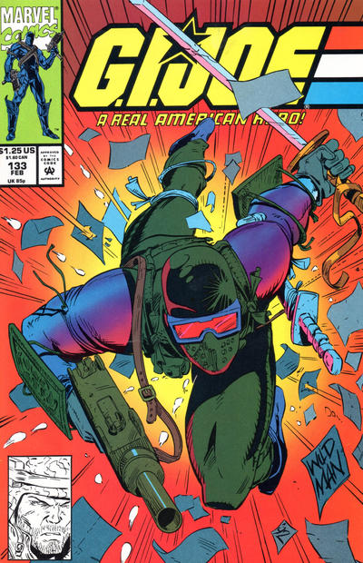 Cover for G.I. Joe, A Real American Hero (Marvel, 1982 series) #133 [Direct Edition]