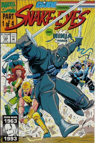Cover for G.I. Joe, A Real American Hero (Marvel, 1982 series) #135 [Direct Edition]