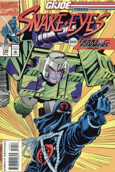 Cover for G.I. Joe, A Real American Hero (Marvel, 1982 series) #140 [Direct Edition]