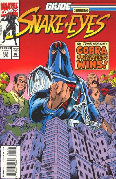 Cover for G.I. Joe, A Real American Hero (Marvel, 1982 series) #145 [Direct Edition]