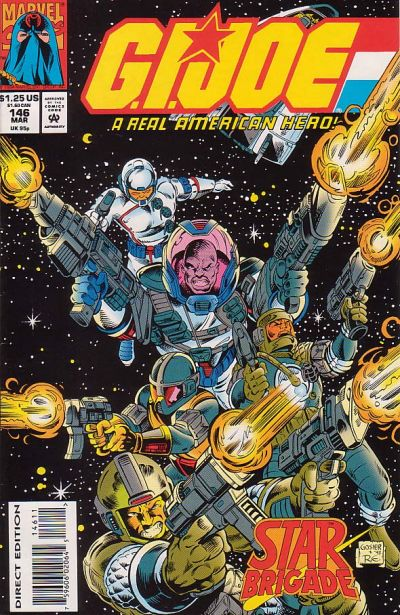 Cover for G.I. Joe, A Real American Hero (Marvel, 1982 series) #146 [Direct Edition]